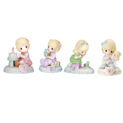 01-4 Bundle of Growing In Grace - Blonde - Set of 4 Ages 1-4  - Country N More Gifts