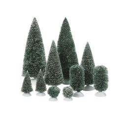 Bag-O-Frosted Topiaries - Small  - Country N More Gifts