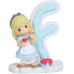 Disney Alphabet Letter F-Alice  - Country N More Gifts