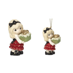 2017 Dated Figurine AND ornament SET - May the Gift of Love Be Yours This Season  - Country N More Gifts