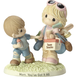Mom, You've Got It All - Bisque Porcelain Figurine  - Country N More Gifts
