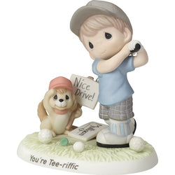 You're Tee-riffic - Bisque Porcelain Figurine  - Country N More Gifts