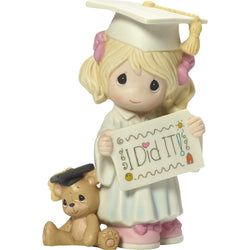 I Did It! - Bisque Porcelain Figurine  - Country N More Gifts