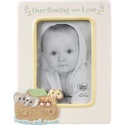 Overflowing With Love - Ceramic Photo Frame  - Country N More Gifts