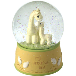 My Precious One - Giraffe Musical Snow Globe (Resin/Glass)  - Country N More Gifts