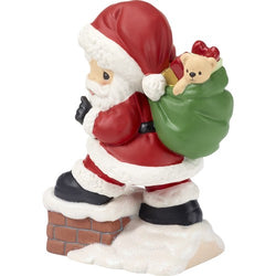 2018 10th Annual Santa Series Figurine - May Your Every Wish Come True  - Country N More Gifts