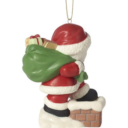 2018 10th Annual Santa Series Ornament - May Your Every Wish Come True  - Country N More Gifts