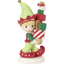 2018 3rd Annual Elf Series Figurine - Bringing You Loads Of Christmas Cheer  - Country N More Gifts