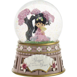 Disney Mulan Musical Snow Globe - A Blossom Is Never Too Late To Bloom  - Country N More Gifts