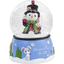 2018 9th Annual Snowman Series Snow Globe - Christmas Cheer For All  - Country N More Gifts