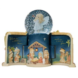 Come Let Us Adore Him - Nativity Musical LED Snow Globe  - Country N More Gifts