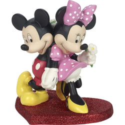 Disney Mickey Mouse and Minnie Mouse Figurine - Lean On Me  - Country N More Gifts