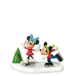 Mickey And Minnie Go Skating  - Country N More Gifts