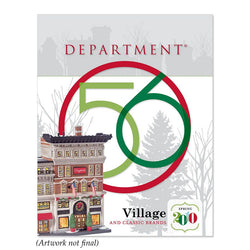 2010 Mid Year Department 56 Village Brochure Midyear Catalog  - Country N More Gifts