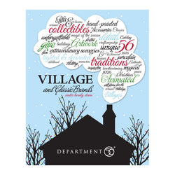 2011 Department 56 Village Brochure Catalog  - Country N More Gifts