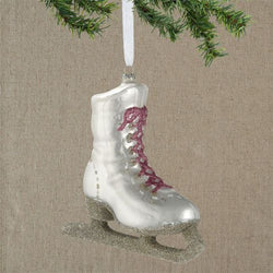 Glass Skate Ornament  - Country N More Gifts
