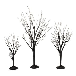Black Bare Branch Trees, Set of 3  - Country N More Gifts