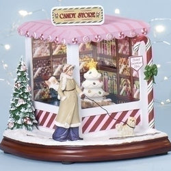 Musical Christmas Candy Shop  - Country N More Gifts