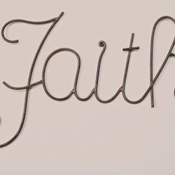 Faith Word Wall Decor  - Country N More Gifts