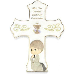 Your First Holy Communion Cross  Boy  - Country N More Gifts