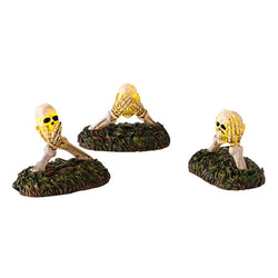 Boneyard Do No Evil Lights Set of 3  - Country N More Gifts