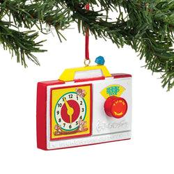 Radio Clock Ornament Fisher Price  - Country N More Gifts