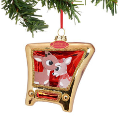 Clarice and Rudy TV Ornament  - Country N More Gifts