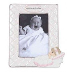 Baptized In His Name  Photo Frame Girl  - Country N More Gifts