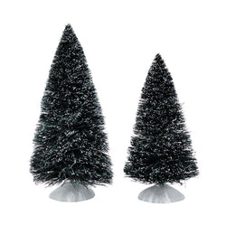Bag O Frosted Topiaries, Medium Set of 2  - Country N More Gifts