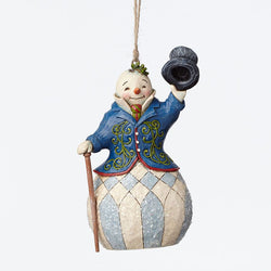 Victorian Snowman Ornament  - Country N More Gifts