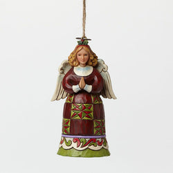 Christmas Angel Mini Ornament - Angel Praying  - Country N More Gifts