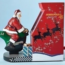 Santa Motorcycle Race Game  - Country N More Gifts