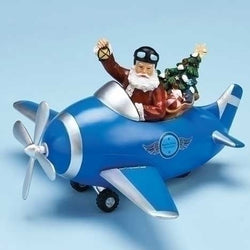 Santa Spinning Propeller Airplane  - Country N More Gifts