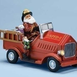 Santa Firetruck  - Country N More Gifts
