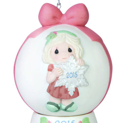 You Make The Season One of a Kind Dated Ball Ornament 2015 With Base  - Country N More Gifts