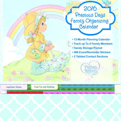 2016 Organizational Calendar  - Country N More Gifts