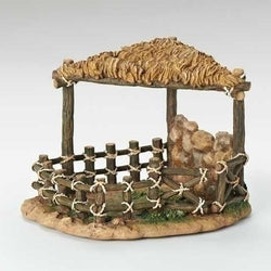 Sheep Shelter For 7.5 Inch Nativity  - Country N More Gifts
