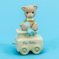 00 New Baby May Your Birthday Be Warm - Bear  - Country N More Gifts