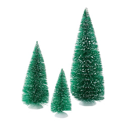 Green Sisal Trees Set Of 3  - Country N More Gifts