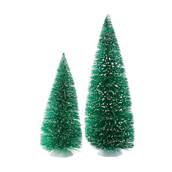 Jumbo Green Sisal Trees Set Of 2  - Country N More Gifts