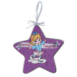 Daughter Skating   -  Ornament  - Country N More Gifts