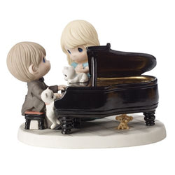 Baby Your Grand - Limited Edition Couple at Piano  - Country N More Gifts