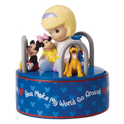 You Make My World Go Around Musical - Disney Girl With Mickey  - Country N More Gifts