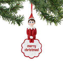 Elf On The Shelf    Snowflake Dated Sentiment  - Country N More Gifts