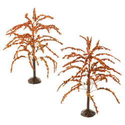 Autumn Splendor Trees, Set of 2  - Country N More Gifts