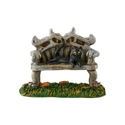 Black Cat Bench  - Country N More Gifts