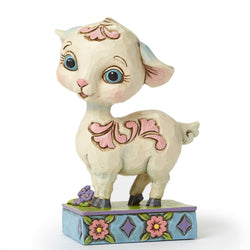 Mini Lamb By Gate  - Country N More Gifts
