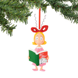 Cindy Reading Ornament  - Country N More Gifts