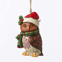 Christmas Owl Mini Ornament  - Country N More Gifts
