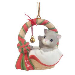 2016 Dated Cat Ornament  - Country N More Gifts